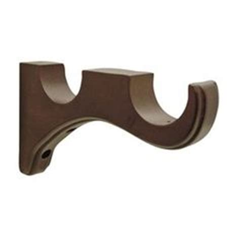 wooden curtain rod holders bing images living room