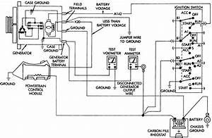 Chevy Wiring Diagram Alternator And Testing