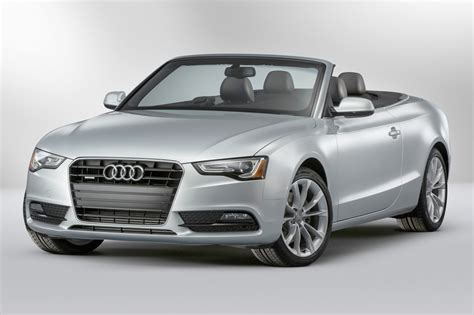 Audi Convertible by 2017 Audi A5 Convertible Pricing Features Edmunds