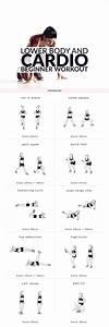 Lower Body  U0026 Cardio Beginner Workout Routine