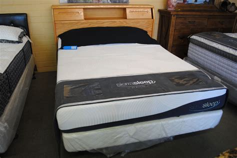 sierra sleep mattresses  box set desert design furniture