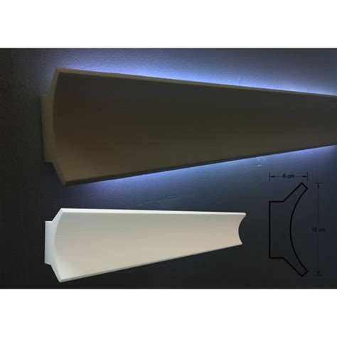 Cornice Polistirolo Per Interni Cornici In Polistirolo Tagliate 150x 60x1000mm Decorazioni