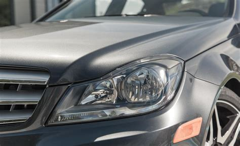 2013 mercedes c300 4matic sedan headlight photo