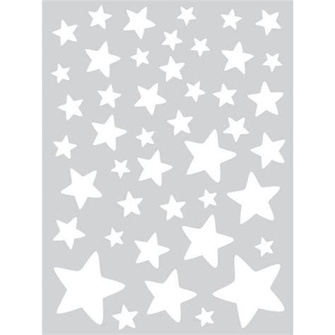 modele decoration chambre adulte stickers enfants supplément d 39 âme etoiles blanches