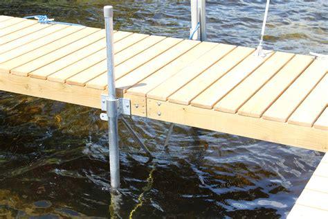diy boat information wood boat dock sections