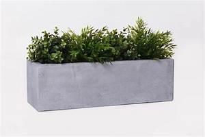 Pflanzkübel Beton Eckig : blumenkasten fensterbankkasten fiberglas flobo beton design grau blumenk sten ~ Orissabook.com Haus und Dekorationen
