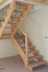 Marche Bois Escalier : escalier bois sans contre marche menuiserie md marseille menuiserie bois marseille menuiserie md ~ Voncanada.com Idées de Décoration