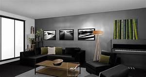 Deco Salon Contemporain : d coration esprit loft rez de chauss e mh deco ~ Melissatoandfro.com Idées de Décoration