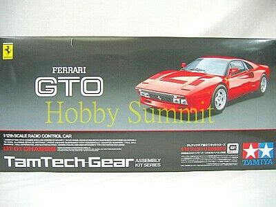 I painted mine classic mica red which is not the color recommended by the instructions but has a bit more pop. Tamiya 1/12 R/C FERRARI 288 GTO Car TamTech GT-01 Chassis Kit # 57103 | eBay