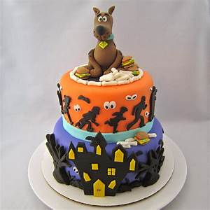 blog With scooby doo cake template