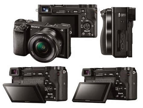 daftar harga kamera dslr mirrorless sony november