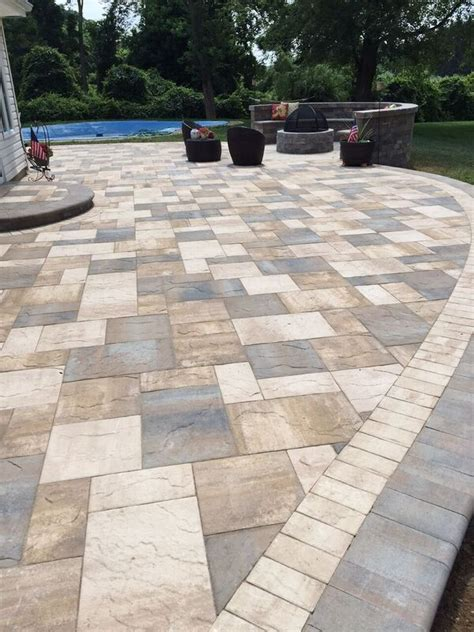 What A Beautiful Patio Created By Artistic Pavers With
