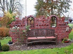 Gartenmauern Aus Stein : mauer aus alten ziegelsteinen ~ Michelbontemps.com Haus und Dekorationen