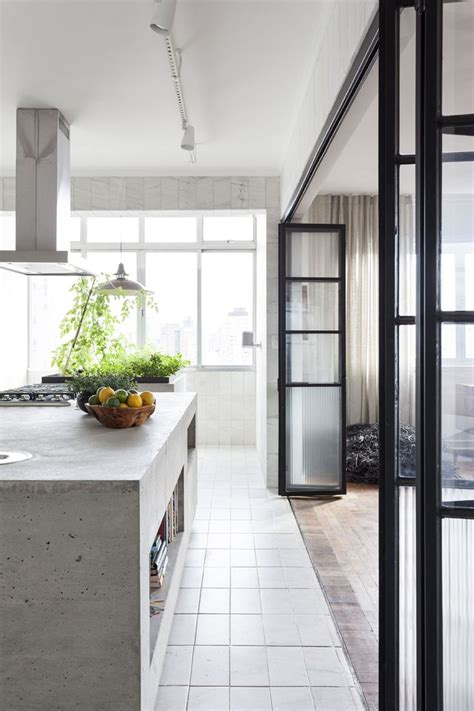Lade Per Scale Interne by Best 25 Concrete Kitchen Ideas On