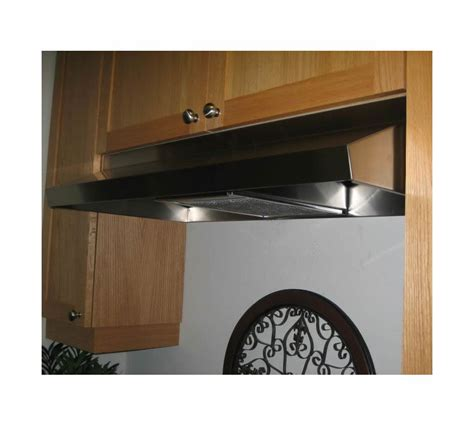 non vented range hoods under cabinet imperial 1924env ss stainless steel 24 quot wide non vented
