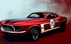 Lovely Red Car Wallpaper Full HD Pictures
