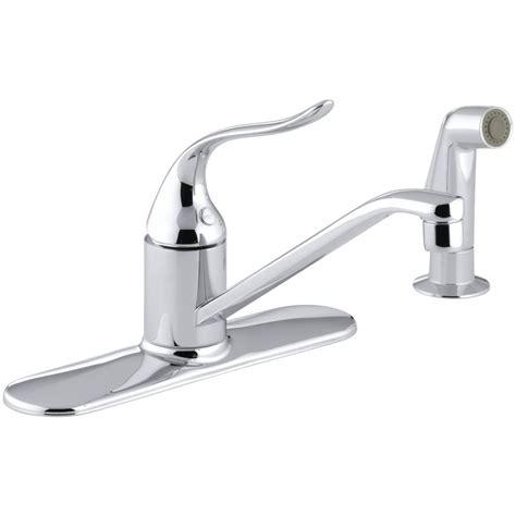 kohler coralais kitchen faucet kohler coralais single handle standard kitchen faucet with