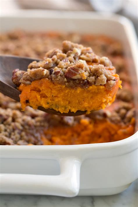 sweet potato casserole  topping cooking classy