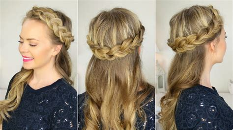 crown braid youtube