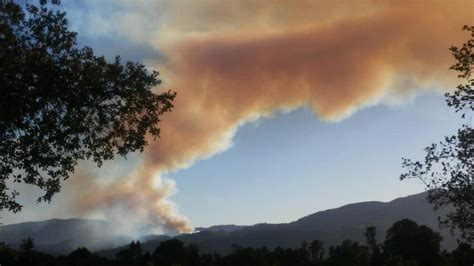napa county fire burns dangerously close  homes