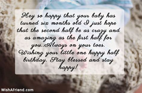 months birthday wishes