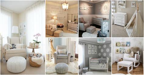 extremely lovely neutral nursery room decor ideas