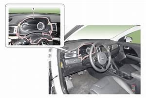 Kia Niro   Cluster Fascia Panel Components And Components