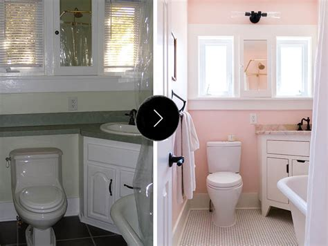 images bathroom ideas on a budget before after all hail the pink bathroom design sponge
