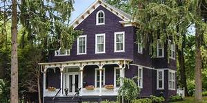 Purple Victorian Home Purple Exterior Paint Colors