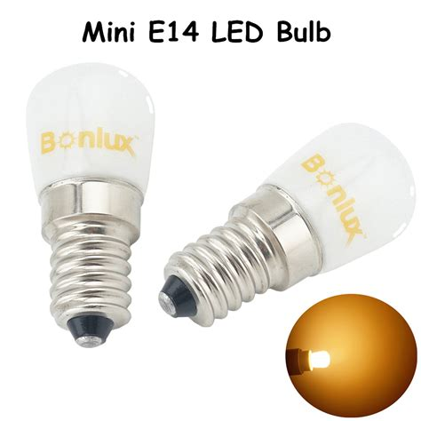 e14 led fridge bulb light 1 5w 120lm replace 15w halogen