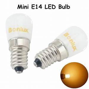 Bonlux Led Sewing Machine Light E14 Led Fridge Bulb Light 1 5w 120lm Replace 15w Halogen