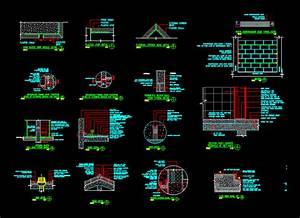 Miscellaneous Details DWG Detail for AutoCAD • DesignsCAD