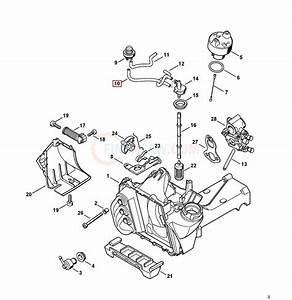 Stihl Spare Parts Diagram