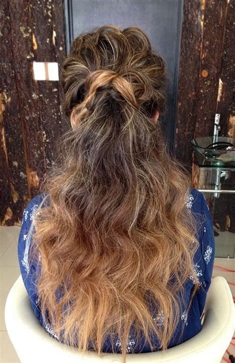 super simple messy ponytail hairstyles