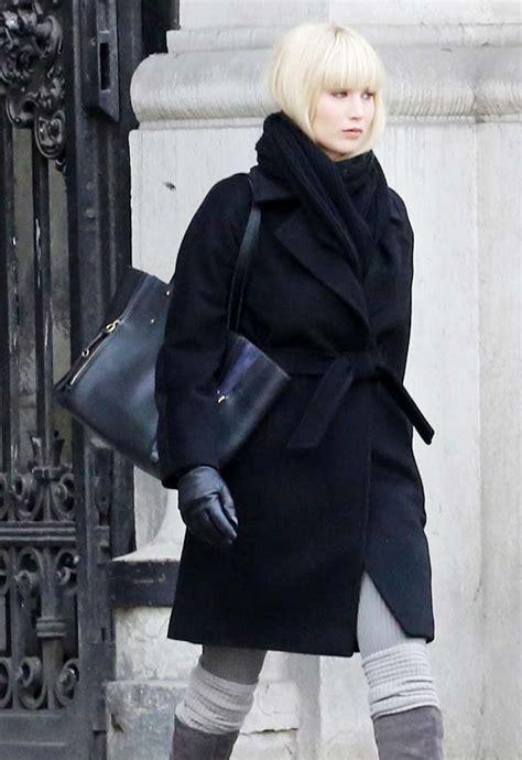 Jennifer Lawrence Red Sparrow Black Coat - ProStar Jackets