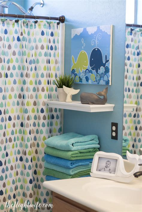 Children Bathroom Ideas by Bathroom Makeover And Friendly Whales The