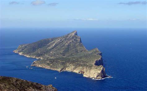 the island of sa dragonera in majorca