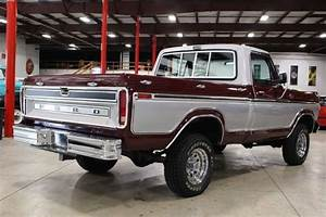 1979 Ford F150 81742 Miles Burgundy Pickup Truck V8 Manual For Sale