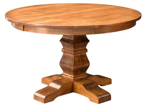 expandable dining table plans amish pedestal dining table solid wood rustic