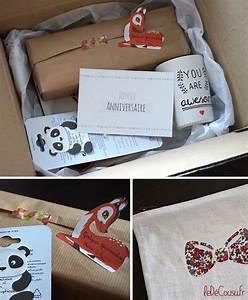 Box Surprise Femme : une petite boite surprise pour un anniversaire le d cousu ~ Preciouscoupons.com Idées de Décoration