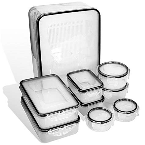 plastic kitchen storage containers with lids food storage containers with lids airtight leak proof 9140