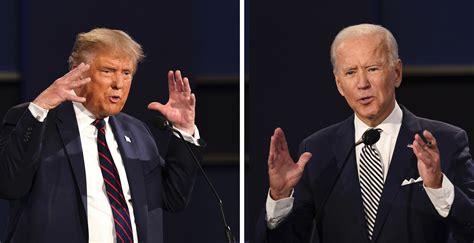 trump  biden records compared  presidential debate