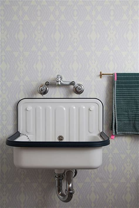 bathroom sink home tour alyson fox vintage sink foxes and sinks Industrial
