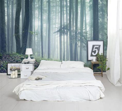 forest glade wallpaper mural  home bedroom