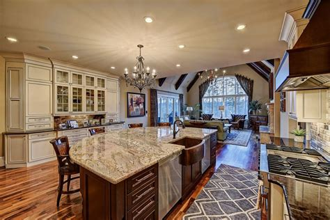 kitchen islands with granite countertops 35 large kitchen islands with seating pictures designing idea