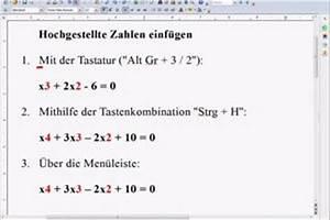 Hochzahlen Berechnen : wie schreibe ich hochzahlen am pc ~ Themetempest.com Abrechnung