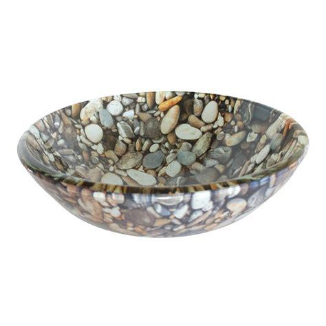 rubbed kitchen faucet shop bath pebble glass vessel bathroom