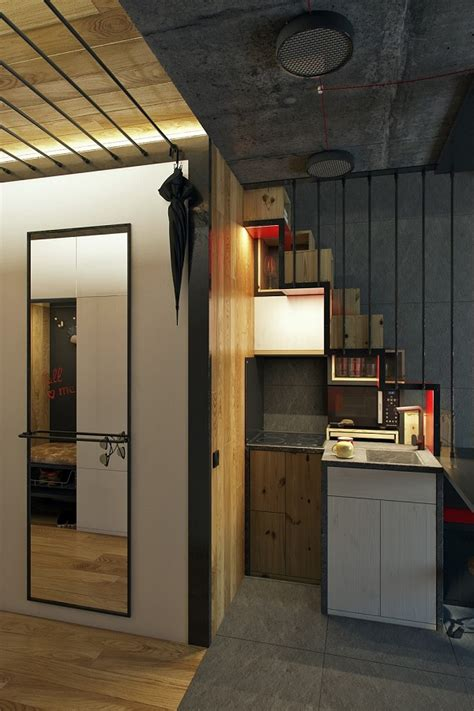 square meter microapartment   surprisingly