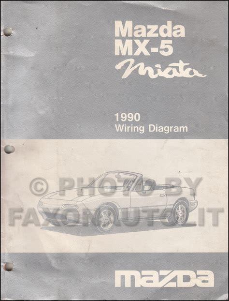Mazda Miata Wiring Diagram Manual Original