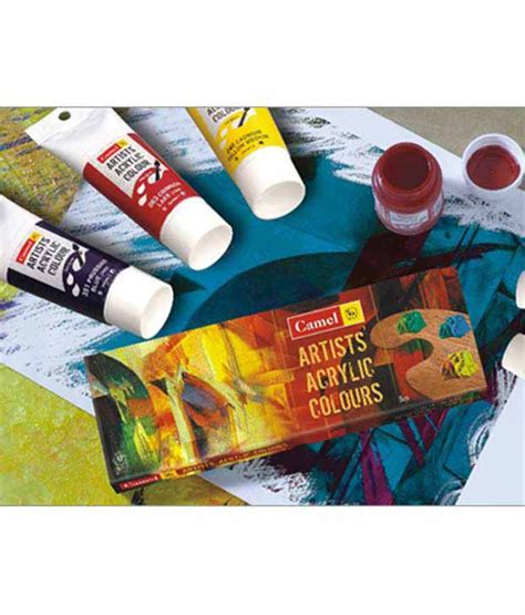buy l shades online india camlin acrylic colour box 700 m 12 12 shades buy
